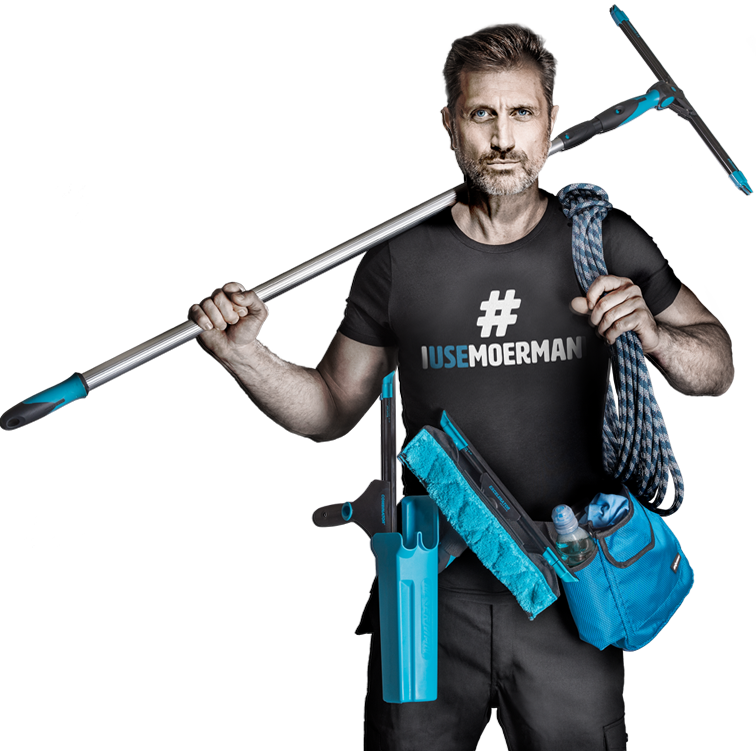 Jack - the face of Moerman Window Cleaning tools